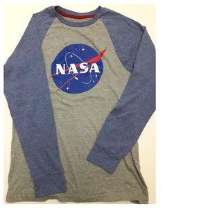 NASA Baseball Shirt for Teen Size 14-16
